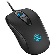 Eternico Wired Mouse MD150, Black - Mouse