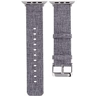 Eternico 38mm / 40mm Canvas Band Grey for Apple Watch - Watch band
