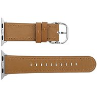Eternico 42mm Apple Watch Leather Band, Classic Brown - Watch band