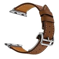 Eternico Apple Watch 42mm Leather Strap Brown - Watch band