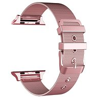 Eternico  42mm Apple Watch Mesh Metal Band, Pink - Watch band