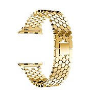 Eternico 42mm Apple Watch Metal Band, Gold - Watch band