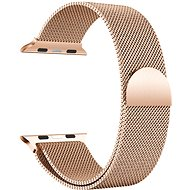 Eternico 42mm / 44mm / 45mm Milanese Rose Gold for Apple Watch - Watch Band