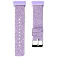 Eternico Fitbit Charge 3 / 4  Canvas, Violet (Large) - Watch band