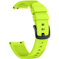 Eternico Garmin Quick Release 20 Silicone Band, Green - Watch Band