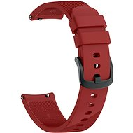 Eternico Garmin Quick Release 20 Silicone Band, Red - Watch Band