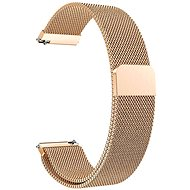Eternico Samsung Quick Release 20 Milanese Band, Rose Gold - Watch band
