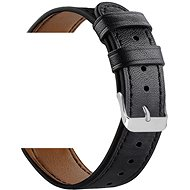 Eternico Samsung Quick Release 20 Leather Band, Black - Watch band