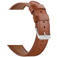 Eternico Samsung Quick Release 20 Leather Band, Brown - Watch band