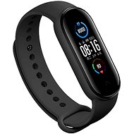 Eternico Silicone Black for Mi Band 5 / 6 - Watch Band
