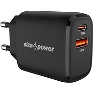 AlzaPower A100 Fast Charge 20W Black - AC Adapter