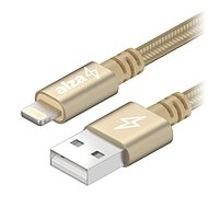 AlzaPower AluCore Lightning MFi 2m Gold - Data cable