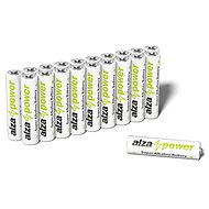 Disposable Batteries AlzaPower Super Alkaline LR03 (AAA) 20pcs Eco-box - Jednorázová baterie