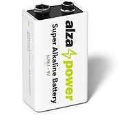 AlzaPower Super Alkaline 6LR61 (9V) 1pc in Eco-box - Disposable batteries