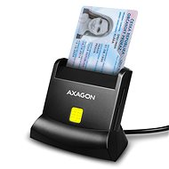AXAGON CRE-SM2 Smart Card & SD/microSD/SIM Card - Electronic ID Reader