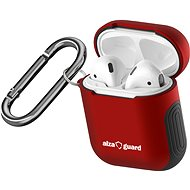 AlzaGuard Protective Case for Airpods Red - Headphone Case