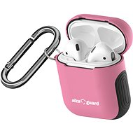 AlzaGuard Protective Case for Airpods Pink - Headphone Case