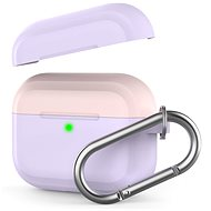 AhaStyle Case AirPods Pro with Clip Purple/Pink - Headphone Case