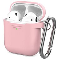AhaStyle Cover AirPods 1 & 2 with LED Indicator, Pink - Headphone Case