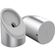 Ahastyle Aluminium-Silicone Magsafe Stand 360° Silver - Stand