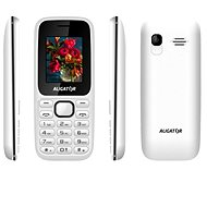 Aligator D200 Dual sim white and black - Mobile Phone
