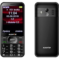 ALIGATOR A900 GPS Senior black - Mobile Phone