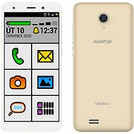 Aligator S5520 Senior, Gold - Mobile Phone