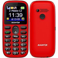 Alligator A510 Senior Red - Mobile Phone