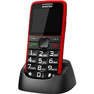 Alligator A675 Senior Red - Mobile Phone