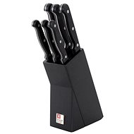 Amefa Artisan Knives and Knife Block, 6pcs - Knife Set