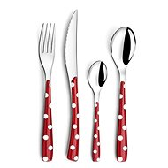 Amefa Cutlery Set Zephyr Red Dots 372242R 24pcs
