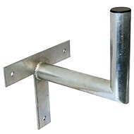 Three-point galvanised bracket, 220/150/38, 22cm from the wall - Console
