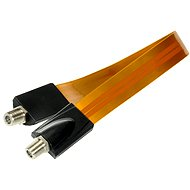 Window gland 30cm F connectors  - Coaxial cable
