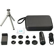 Apexel Lens Set 4in1 + 22x Telephoto Zoom Lens With Tripod - Mobile phone lenses