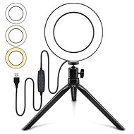 """Apexel Ring Light 6"""" with Clip - Photo Lighting"""