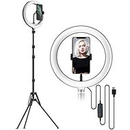 """Apexel Ring Light 10"""" with 2.1m Stand and Holder - Photo Lighting"""