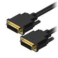 AlzaPower DVI-D to DVI-D Dual Link Interconnect 1m - Video Cable