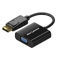 AlzaPower DisplayPort (M) to VGA (F) 0.1m - Adapter