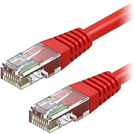 AlzaPower Patch CAT5E UTP 1m Red - Network Cable