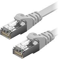 AlzaPower Patch CAT6 FTP Flat 1m Grey - Network Cable