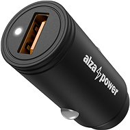 AlzaPower Car Charger X510 Fast Charge, Black - Car Charger