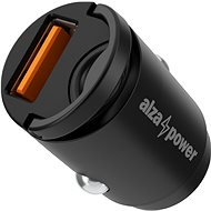 AlzaPower Car Charger M110 Fast Charge Mini, Black - Car Charger