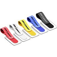 Cable Organiser AlzaPower VelcroStrap+ with Tag, 10pcs, Mixed Colours - Organizér kabelů