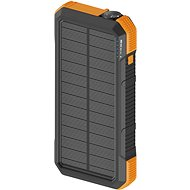 Powerbank AlzaPower SolarScout 20000mAh Orange - Powerbanka