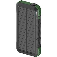 Powerbank AlzaPower SolarScout 20000mAh Green - Powerbanka