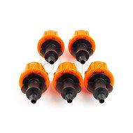 Aquanax AQS005, End Connector 4/7mm, 5 pcs in a Package - Hose coupling