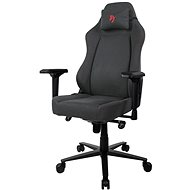 AROZZI PRIMO Woven Fabric Grey With Red Logo - Gaming Chair