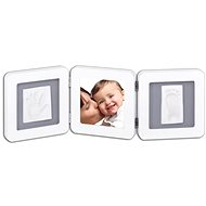 Baby Art Photo Frame Double - White / Grey - Children's kit