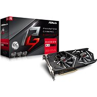 ASROCK Radeon RX570 Phantom Gaming X 8G OC - Graphics Card