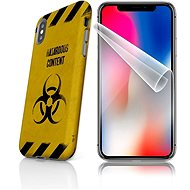 Skinzone Tough for iPhone X SLVS0009, At your own risk - Protective case by Alza